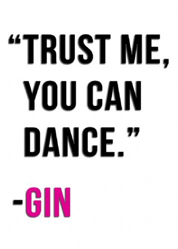 ART - TRUST ME GIN - PINK canvas print - self adhesive poster - photo print